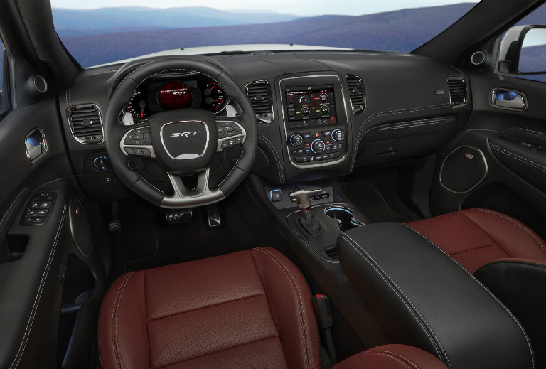 Captivating 2018 Dodge Durango SRT Earns Crossover Of The Year Honor » 2018 Dodge  Durango SRT Interior Front Seats_o