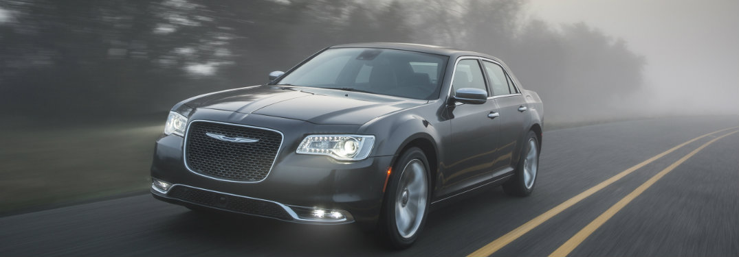 2019 Chrysler 300 driving in the fog