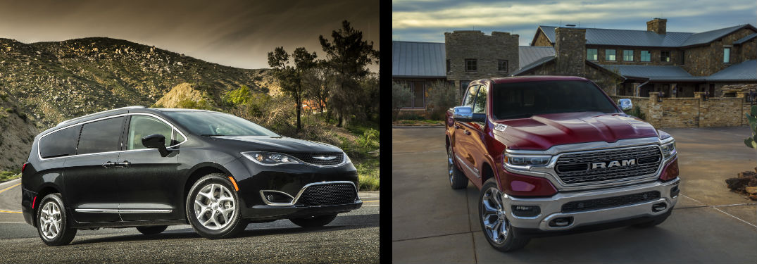 2019 Chrysler Pacifica and 2019 Ram 1500 are Best Buy honor recipients