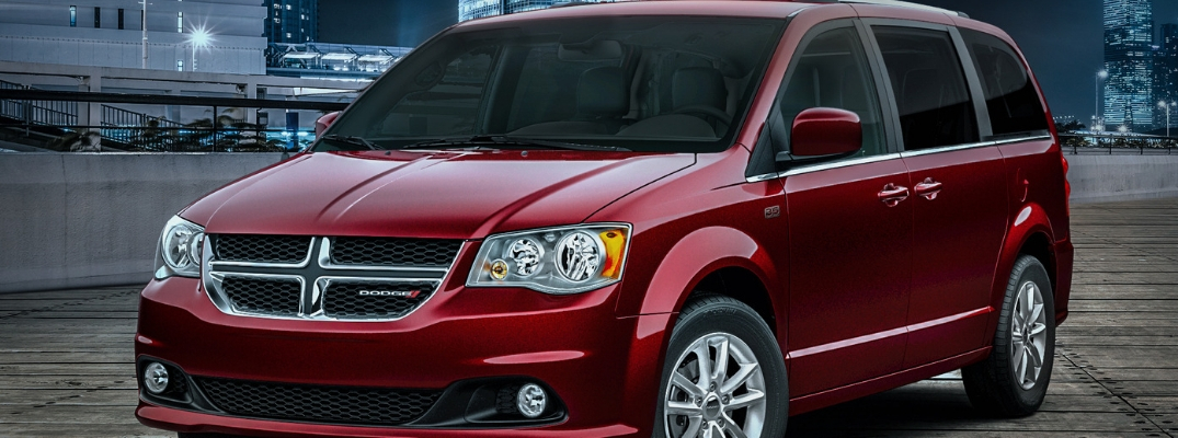 Red 2019 Dodge Grand Caravan 35th Anniversary Edition
