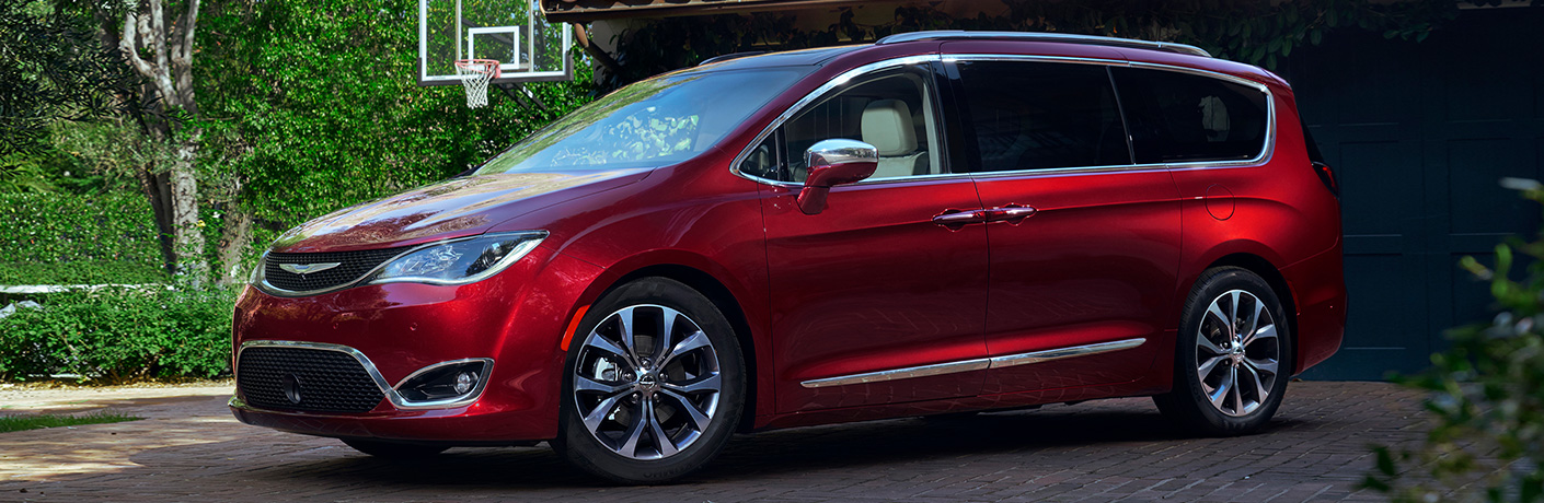 2019 Chrysler Pacifica on residential driveway