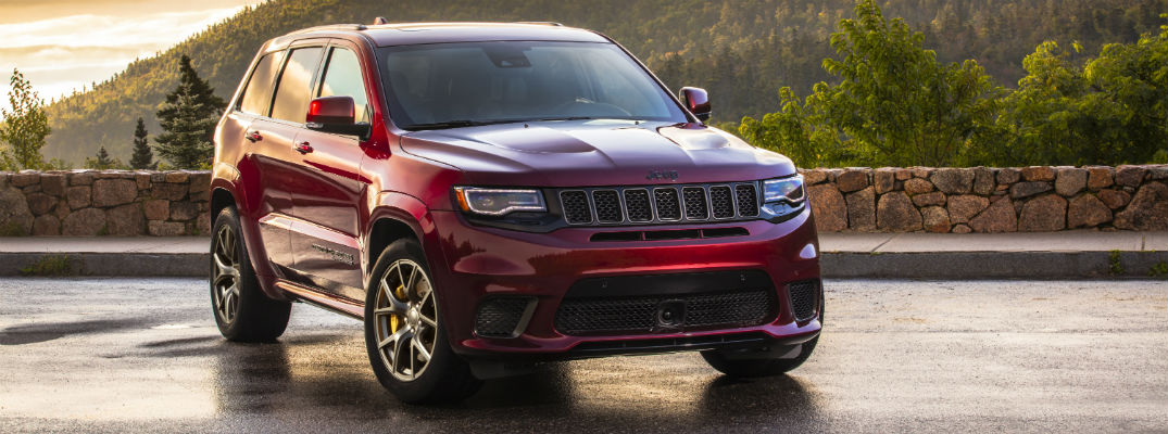 Red 2020 Jeep Grand Cherokee