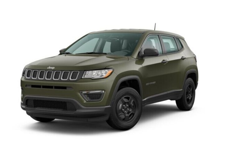 2019 Jeep Cherokee Exterior Color Options