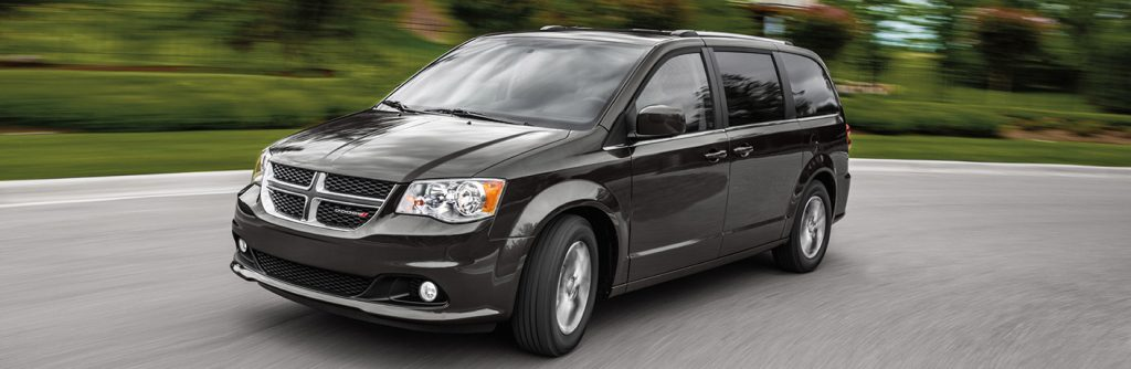 2020 dodge grand caravan passenger and cargo space