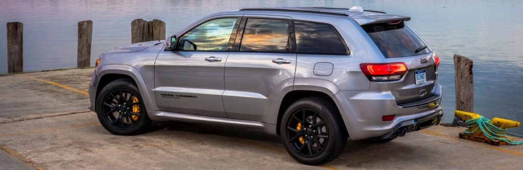 2020 Jeep Grand Cherokee Interior Seating and Cargo Dimensions