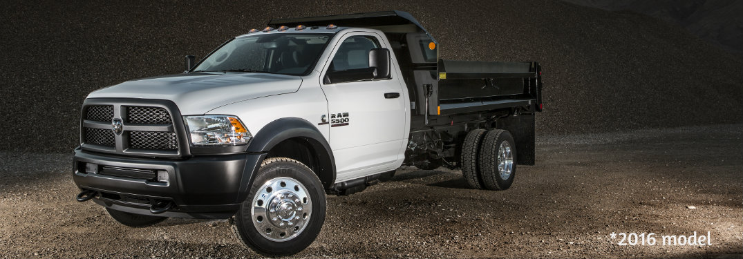 How much can a 2017 Ram 5500 Chassis Cab tow?