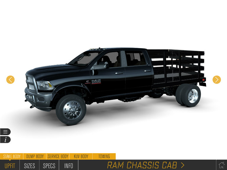 Ram Commercial truck upfitting options demonstrated by the Ram Augmented Reality Upfit Configurator