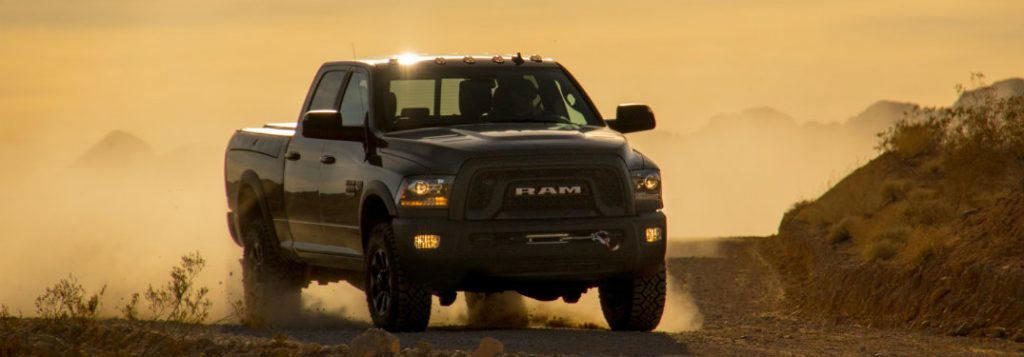 How much engine output does the 2018 Ram 3500 have?