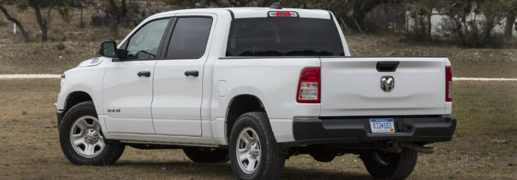 Standard features of the 2019 Ram 1500 Tradesman