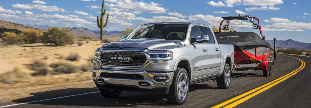 2019 Ram 1500 Suspension Options and Improvements