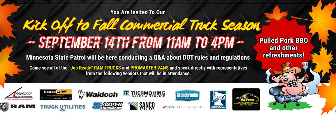 Fury Motors Commercial Truck Season Event info, see blog for details