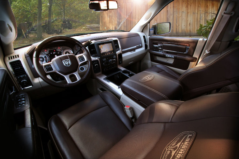 2018 Ram Heavy Duty Longhorn Ram Rodeo Edition interior