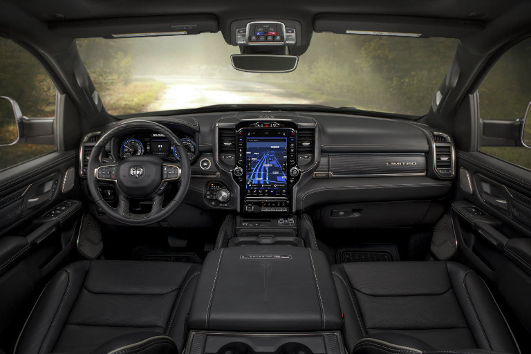 2019 Ram 1500 Limited interior, dashboard