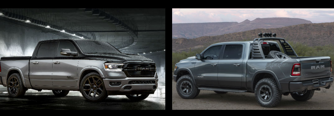 Ram Rebel Concept and Big Horn Low Down Impress at SEMA