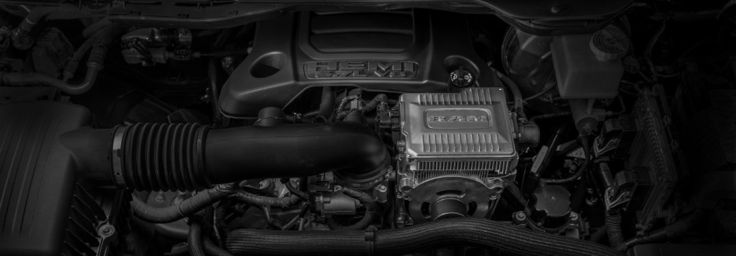 V-8 eTorque engine on the 2019 Ram 1500