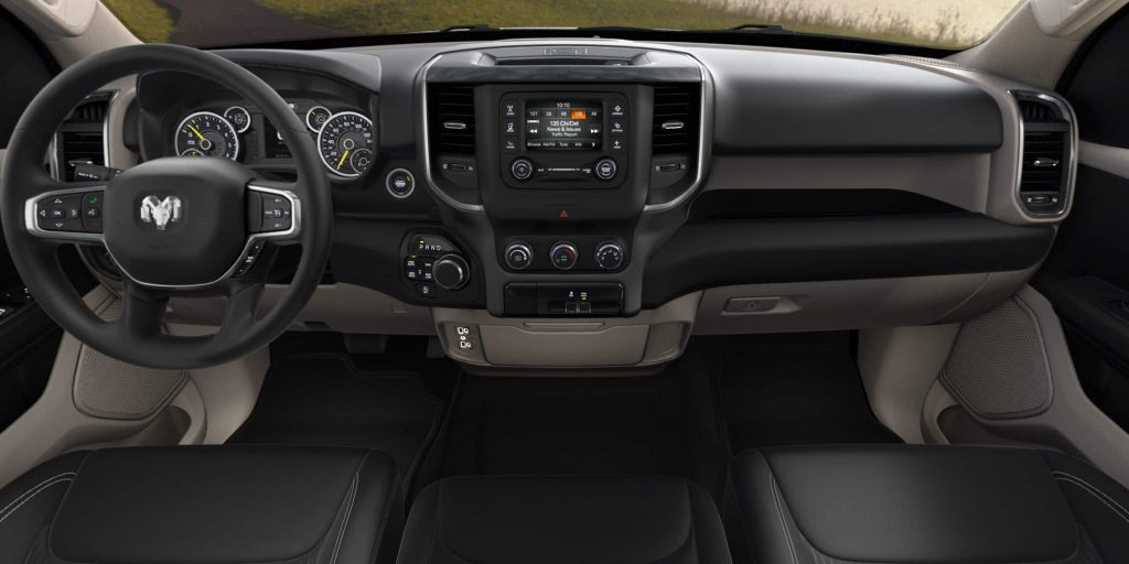 2019 Ram 1500 Interior Material And Color Options