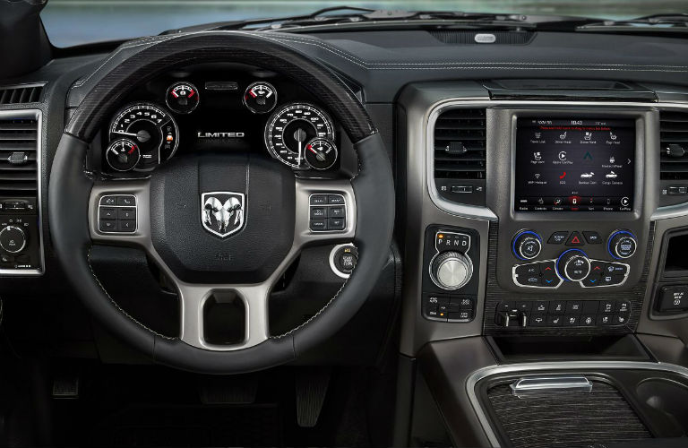 2018 Ram 1500 5-Inch Uconnect® 3