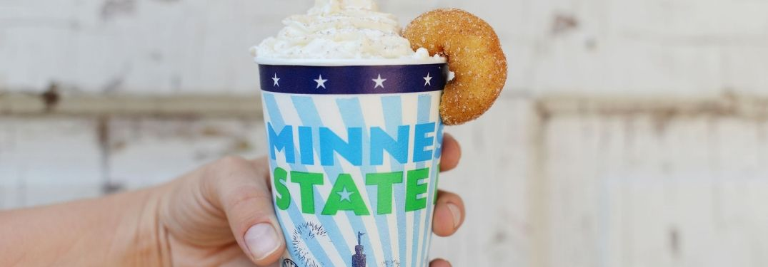 Minnesota State Fair latte cup