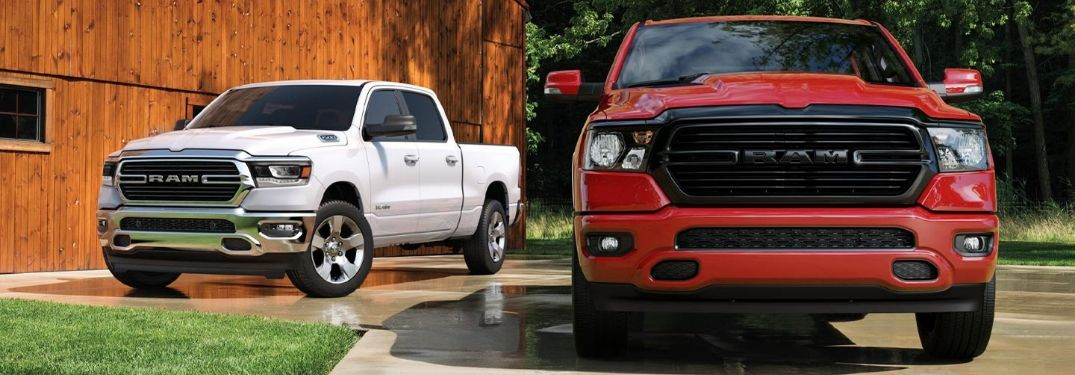 What Exterior Colors Are Available on the 2020 Ram 1500?