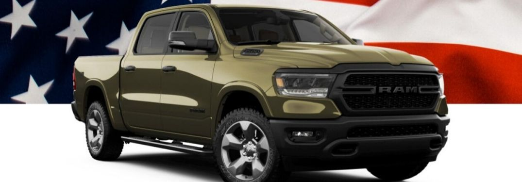 "Ram Honors U.S. Troops with New ""Built to Serve Edition"" Lineup"