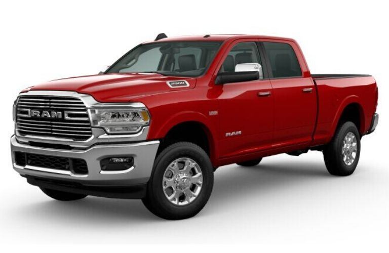 2020 Ram 2500 in Flame Red