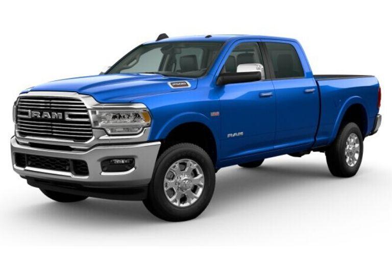 2020 Ram 2500 in Hydro Blue