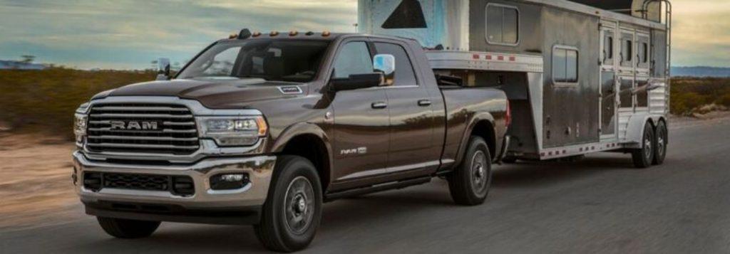 2020 Ram 2500 Towing Payload Capacities Fury Motors