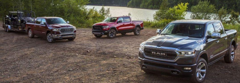 2020 Ram truck lineup