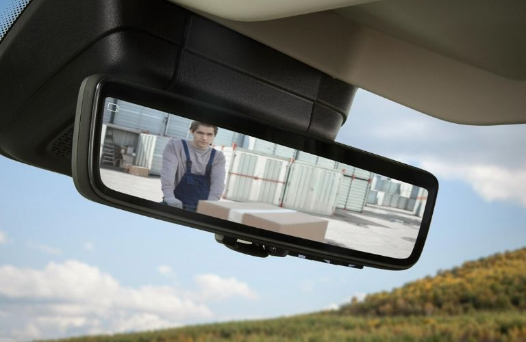 2021 Ram ProMaster new class-exclusive digital rearview mirror