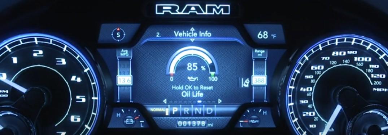 RAM Truck Oil Light Reset