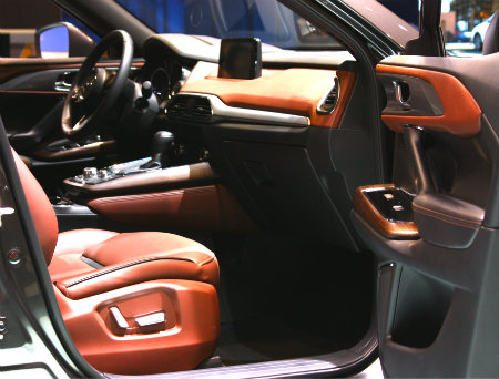 2017 Mazda Cx 9 Interior At Chicago