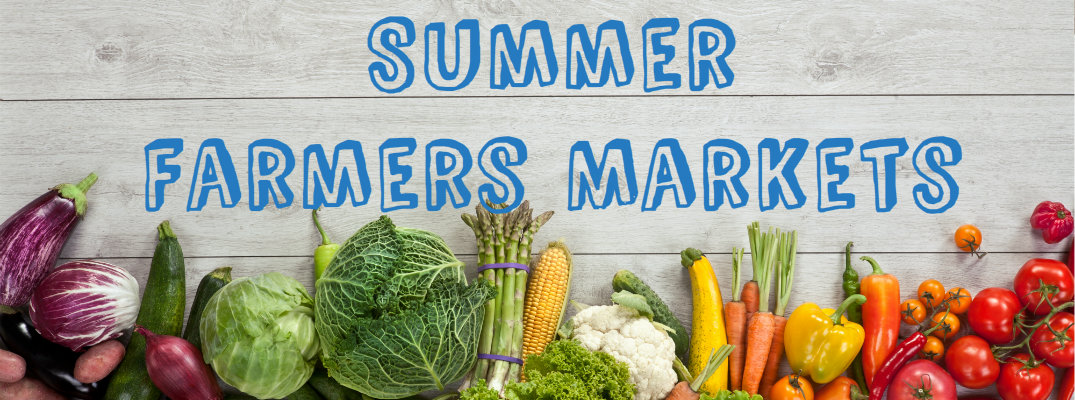Summer Farmers Markets in Bergen County NJ