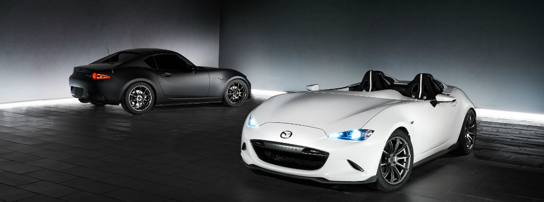 Mazda Unveils Speedster Evolution and Kuro Design Concepts at SEMA 2016