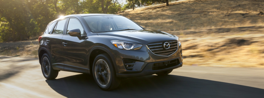 2016 Mazda CX-5 driving along road