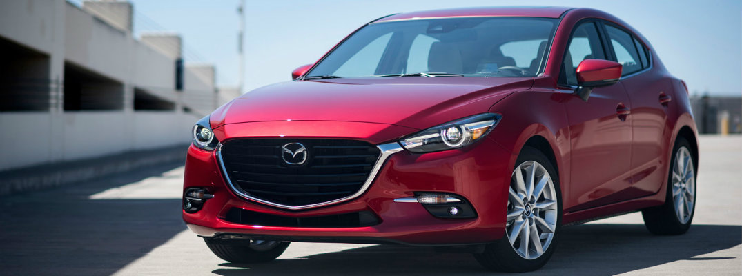2017 Mazda3 fuel efficiency and driving range