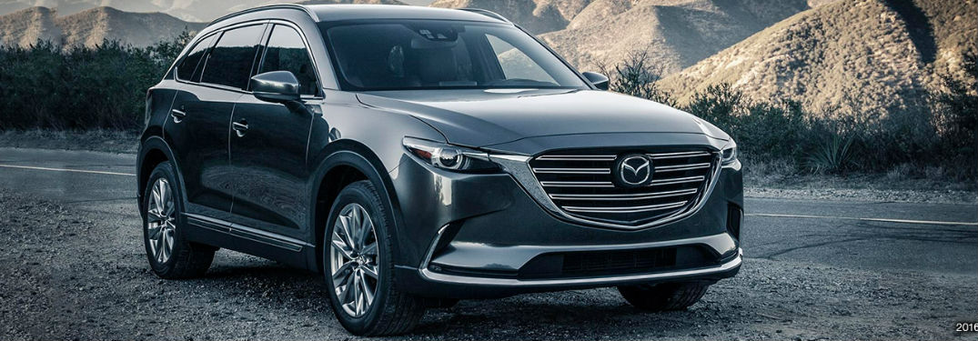Mazda CX-9 color options