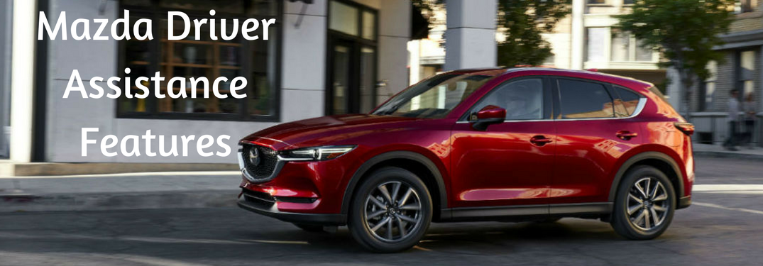 Mazda Driver Assistance features