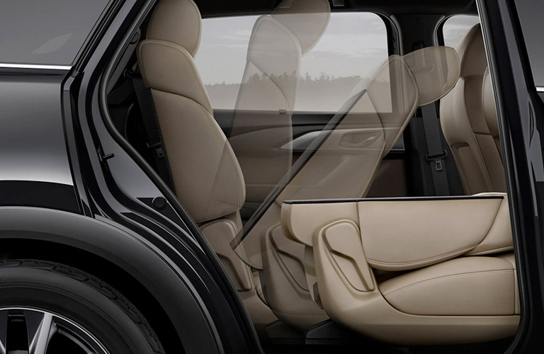 2017 Mazda CX-9 easy-fold seats