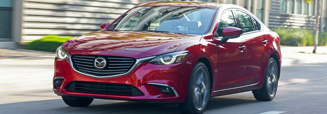 How far can I go in the 2017 Mazda6?