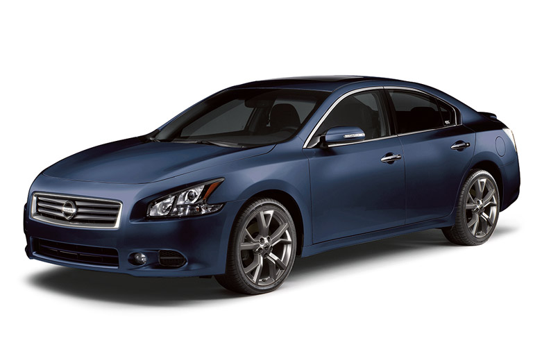 Awesome 2014 Nissan Maxima In Blue
