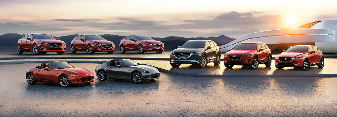 Which Mazda models have All-Wheel Drive?