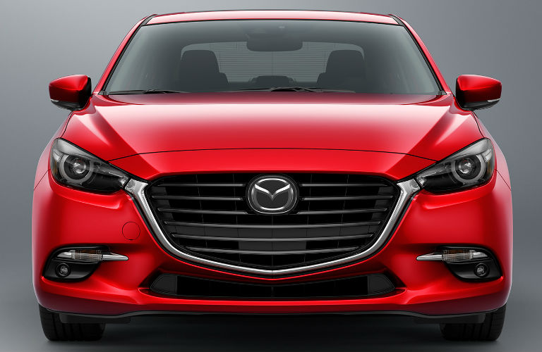 2018 Mazda3 grille in red