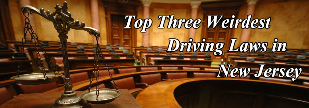 Top Three Weirdest Driving Laws in New Jersey