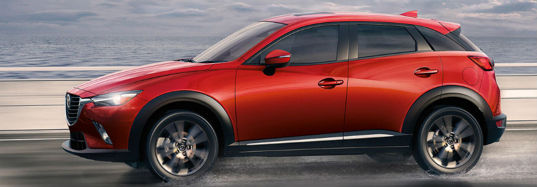 2018 Mazda CX-3 Gas Mileage and Interior Volume