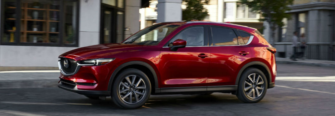 2017 Mazda CX-5 Safety Features