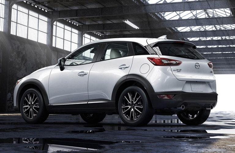 2018 Mazda CX-3 in white