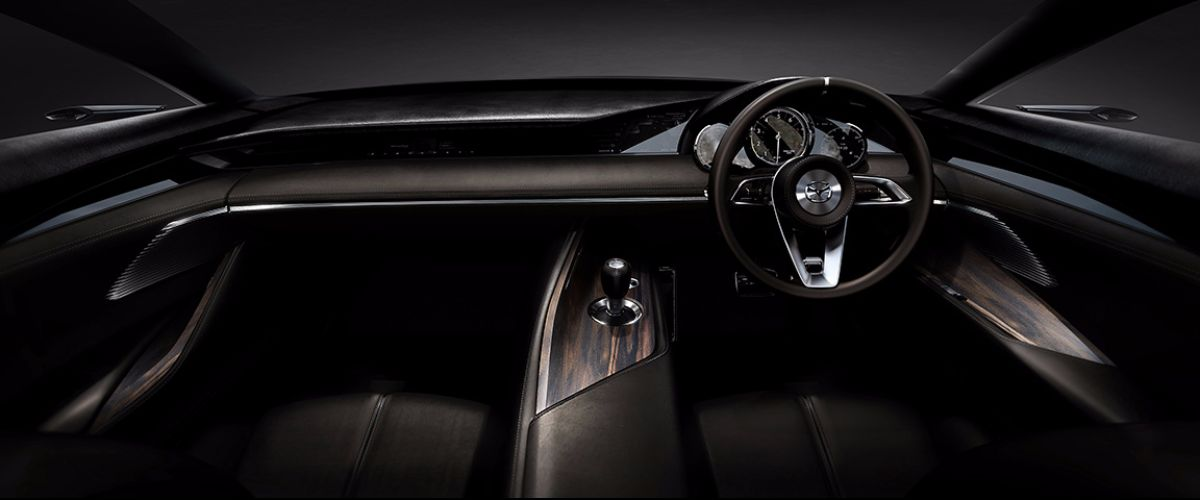 Mazda VISION COUPE interior front row