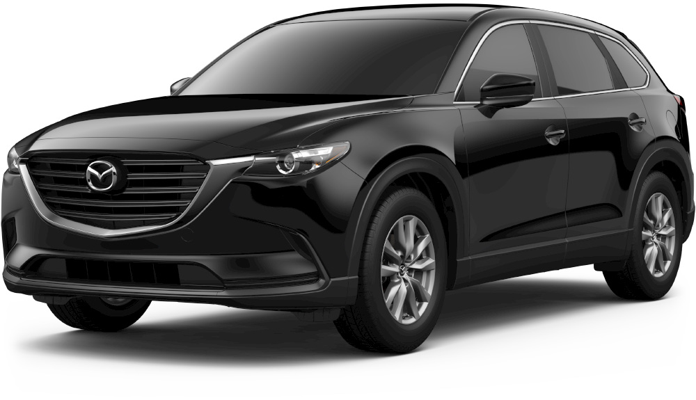 2018 mazda cx-9 in jet black mica