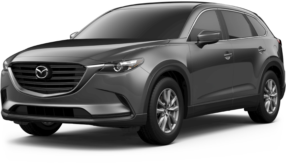2018 mazda cx-9 in machine gray metalllic