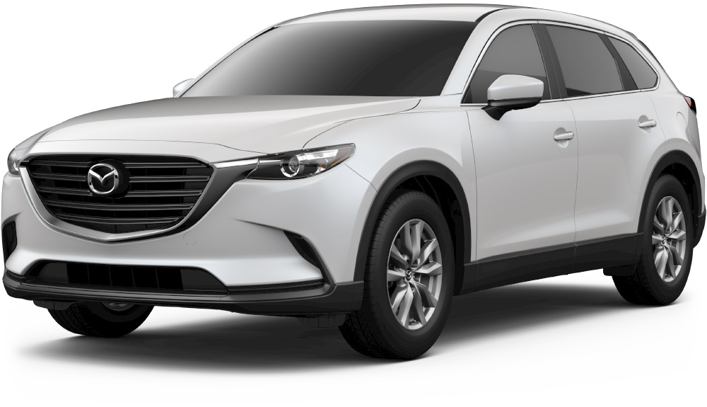 2018 mazda cx-9 in 2018 snowflake white mica
